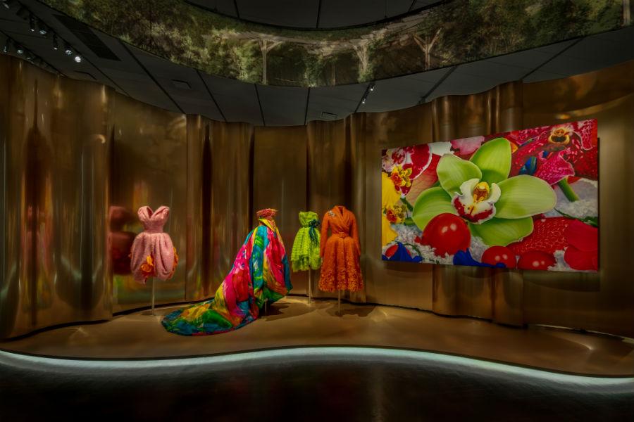Mostra Dior - Denver, Colorado: DIOR – DENVER EXHIBITION – SCENOGRAPHY ©JAMES FLORIO