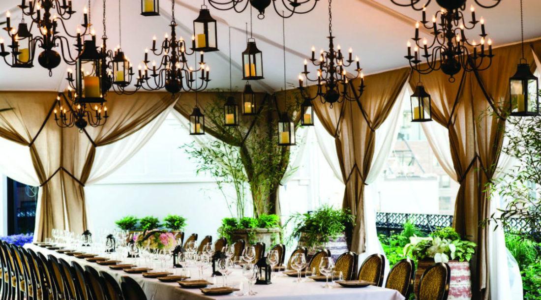 Una delle terrazze ristorante del NoMad Hotel di New York (Credit Benoit Linero)