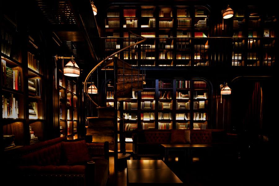 La Biblioteca del NoMAd Hotel di New York (Credit: Benoit Linero)