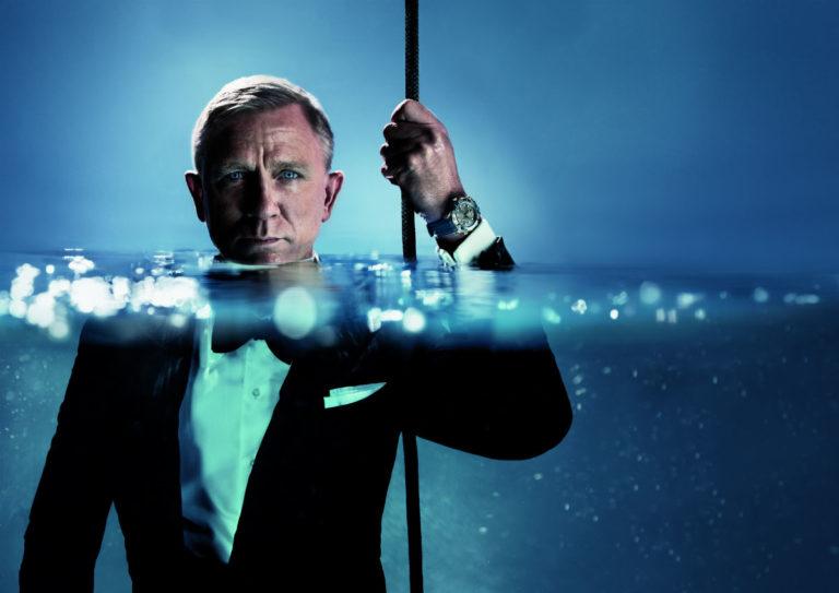Omega Seamaster Diver 300m al polso di Daniel Craig