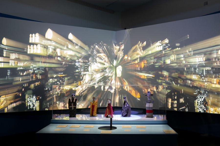 Allestimento mostra Paul Klee. Alle origini dell'arte