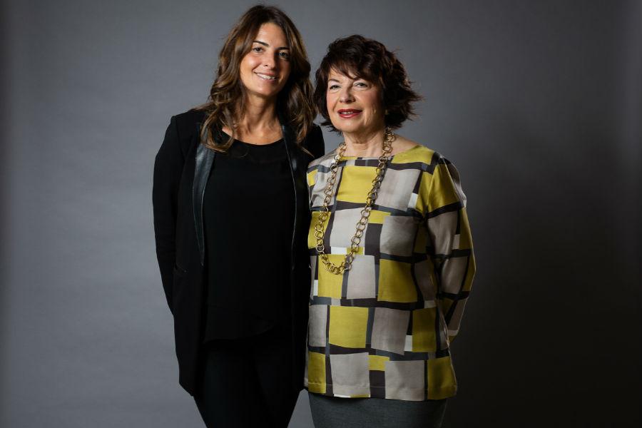 Pisa Orologeria - il Salone dei Gioielli. Nell'immagine: Maristella e Chiara Pisa