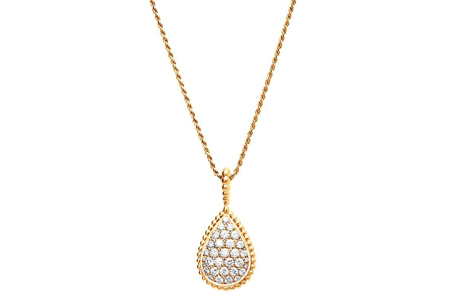 Pisa Orologeria - il Salone dei Gioielli. Nell'immagine: Boucheron – Serpent Boheme – Collana in oro giallo e diamanti