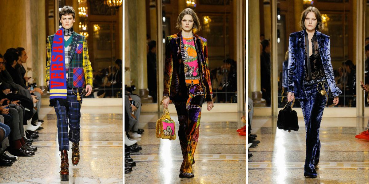 Proposte di tailleur pantalone di Versace