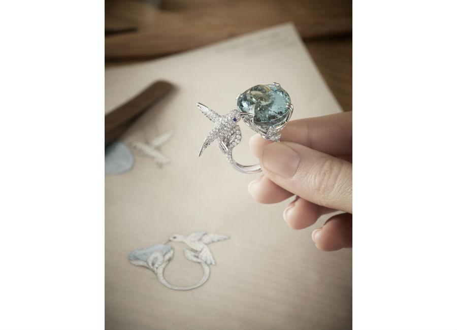 Boucheron Gioielli – Alcuni istanti di lavorazione negli atelier della Maison.