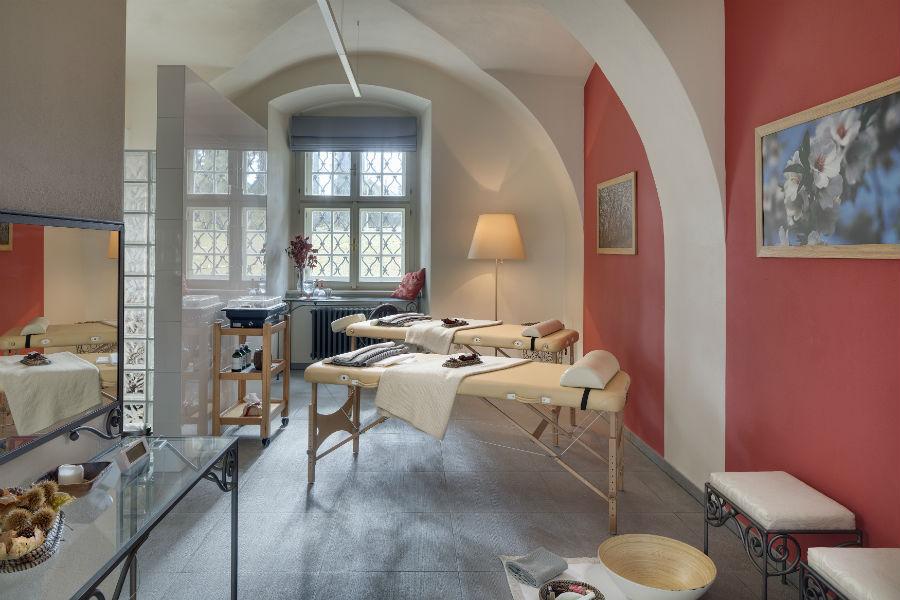 Chateau Herálec - luxury hotel - Repubblica Ceca: nell'immagine la Spa dell'hotel - Credits Chateau Herálec
