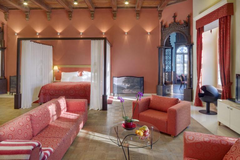 Chateau Herálec - luxury hotel - Repubblica Ceca: nell'immagine una camera dell'hotel - Credits Chateau Herálec