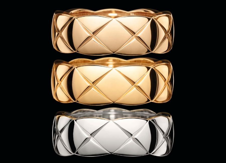 Gioielli Chanel – Fine Jewelry – Coco Crush Anello in oro Beige. Anello in oro giallo, misura piccola. Anello in oro bianco, misura piccola.