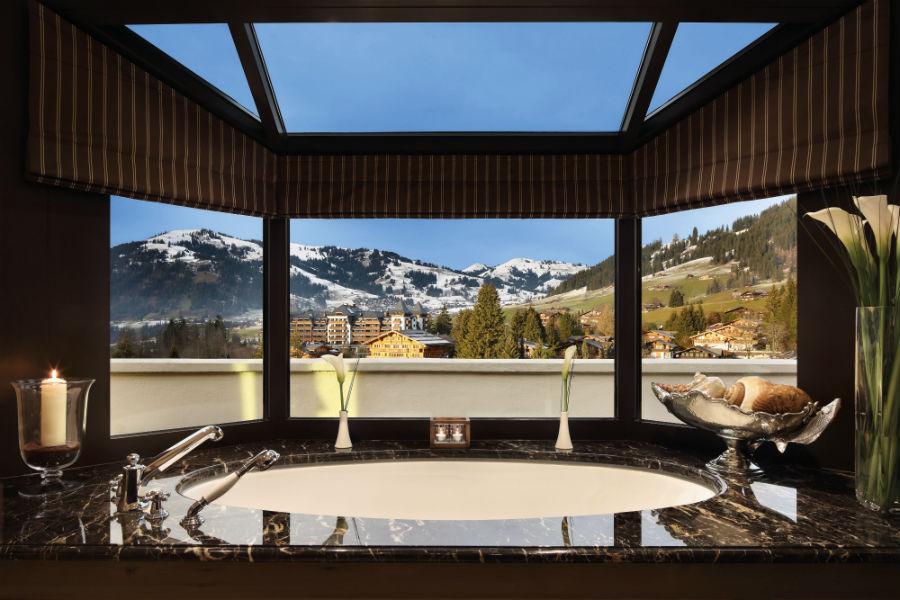 Gstaad Palace Hotel: la Spa dell'hotel