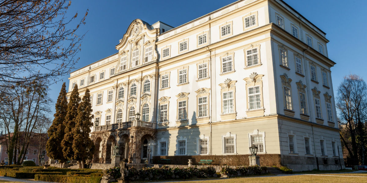 Esterno dell'Hotel Schloss Leopoldskron - Credits Hotel Schloss Leopoldskron