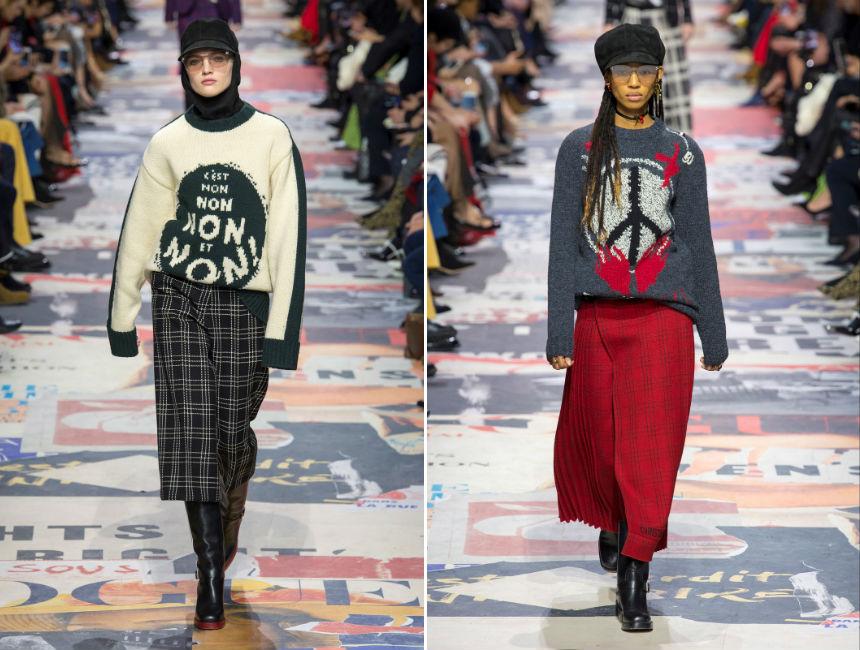 Maglioni invernali: proposte Dior, FW2018/19