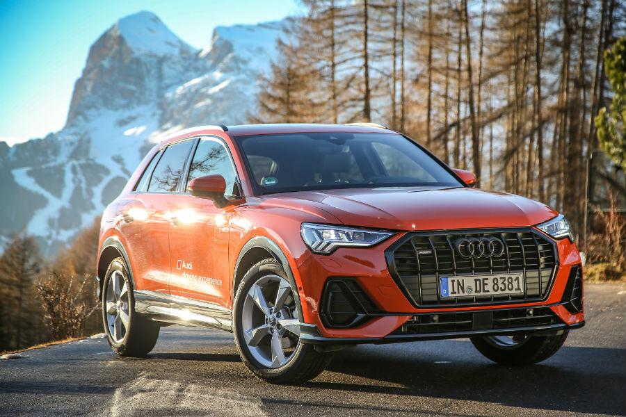 La nuova Audi Q3 nel comune ampezzano