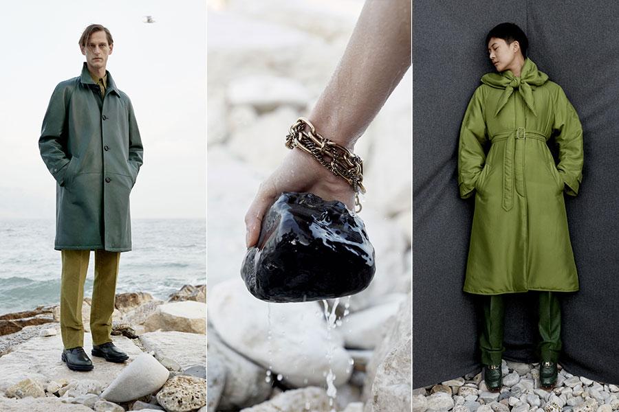 Salvatore Ferragamo, pre-fall 2019: accessori e capi della collezione maschile e femminile