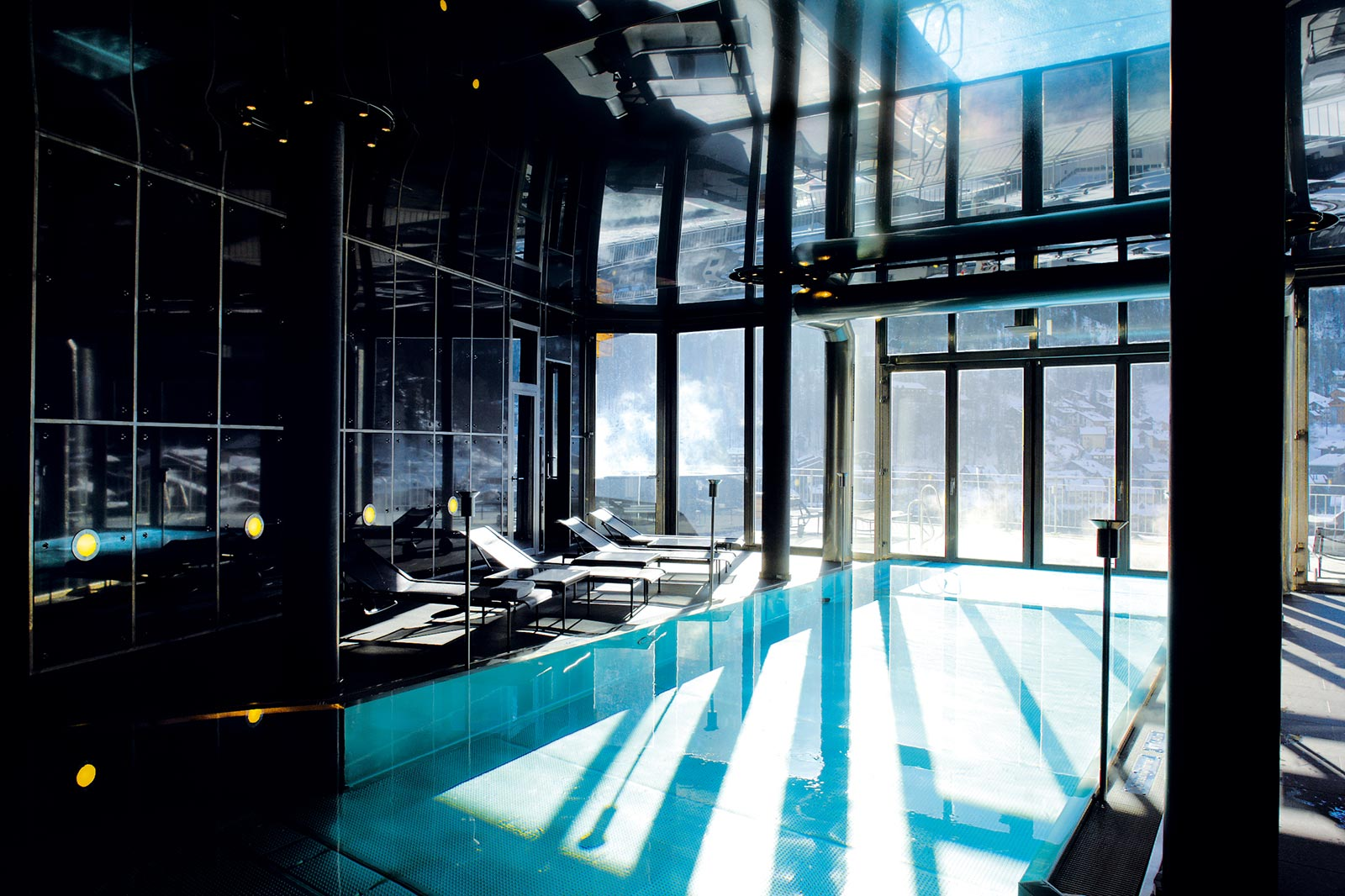 The Omnia Hotel a Zermatt Piscina e Centro Benessere