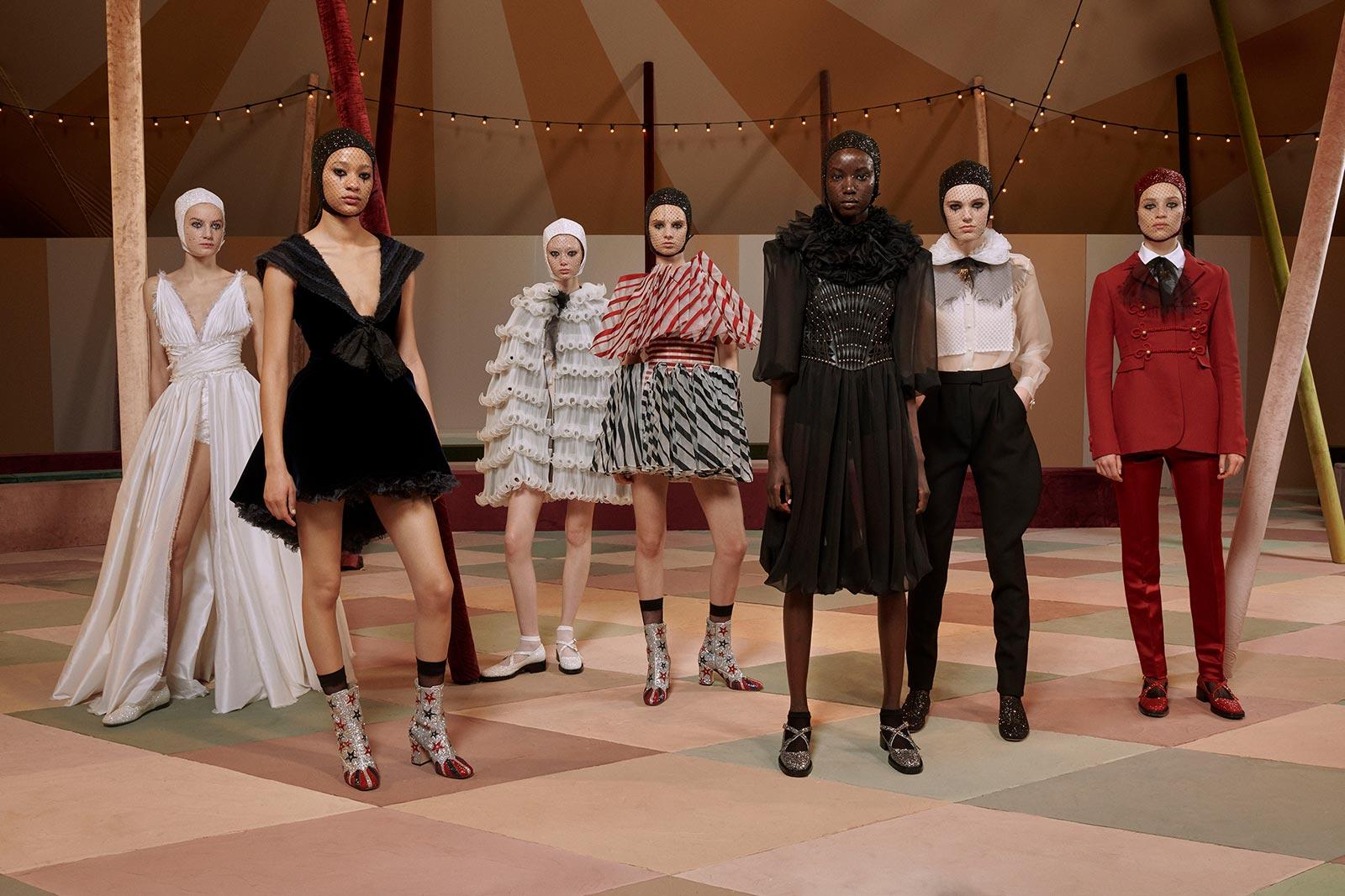 Circo Haute Couture Dior Spring-Summer Groupshot - Estelle Hanania for Dior