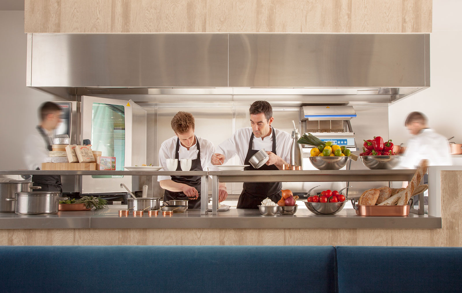 Cromlix Hotel Kitchen The-Ducker