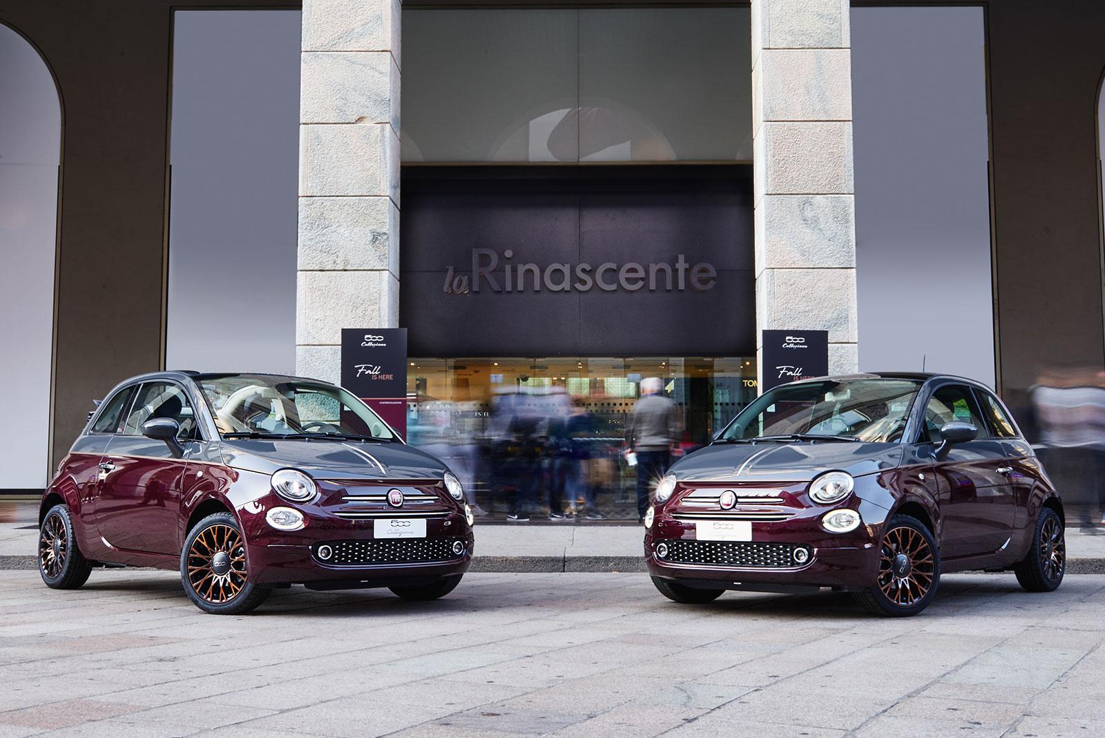 Evento di lancio della Fiat 500 Collezione