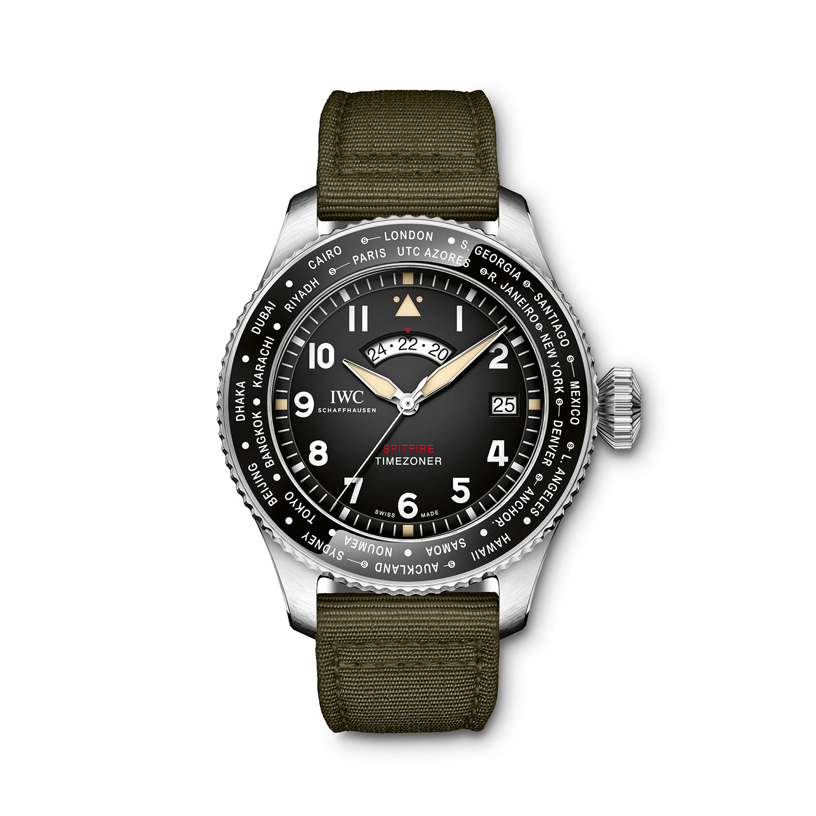 IWC Pilot Watch Timezoner Spitfire Edition The Longest Flight The-Ducker