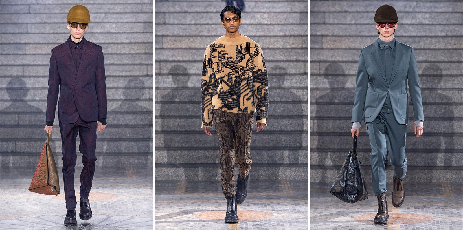 Settimana della moda Milano Ermenegildo Zegna FW 2019 / 2020
