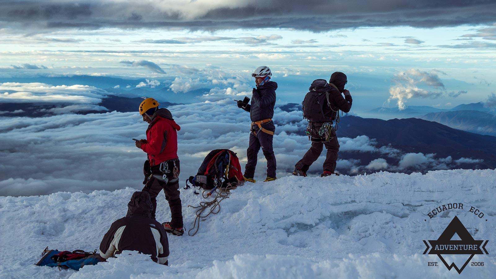 moda sostenibile Chimborazo Mountain