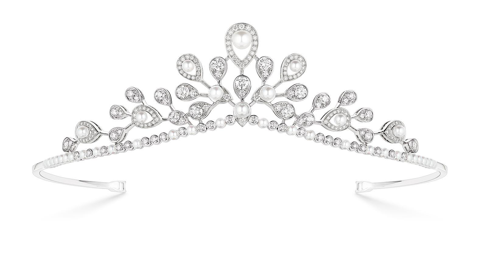 Chaumet Alta Gioielleria: Josephine Aigrette Imperiale Diadema