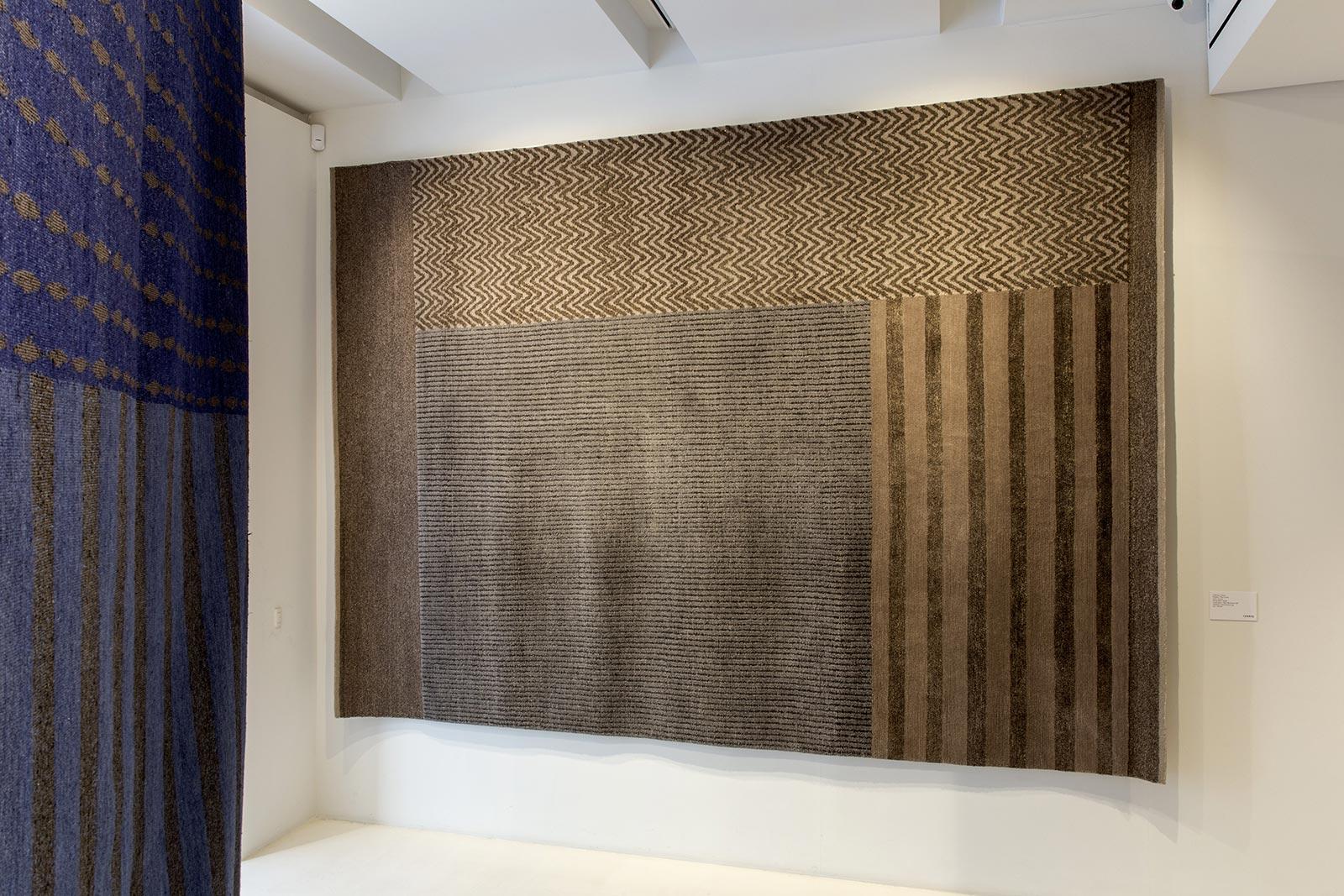 I tappeti persiani di Gorlan Maison Objet Paris: collezione Hunua con la firma di Piero Lissoni