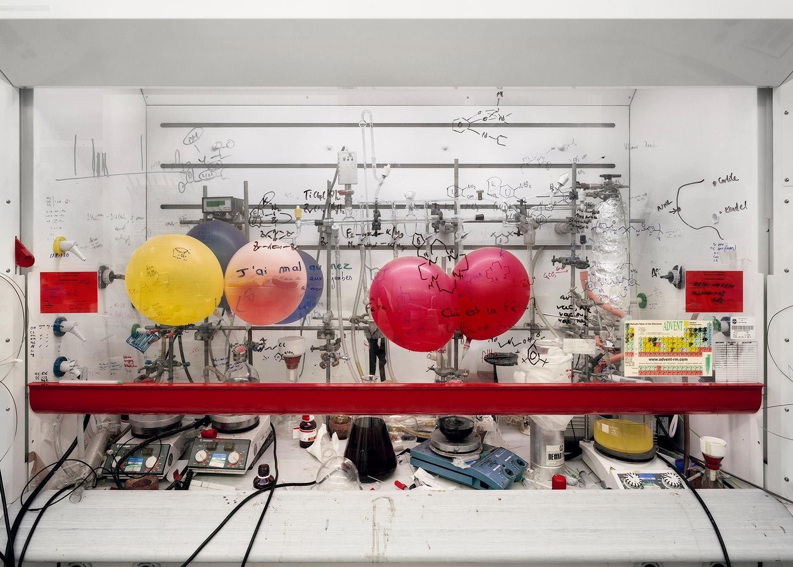 Thomas Struth Chemistry Fume Cabinet