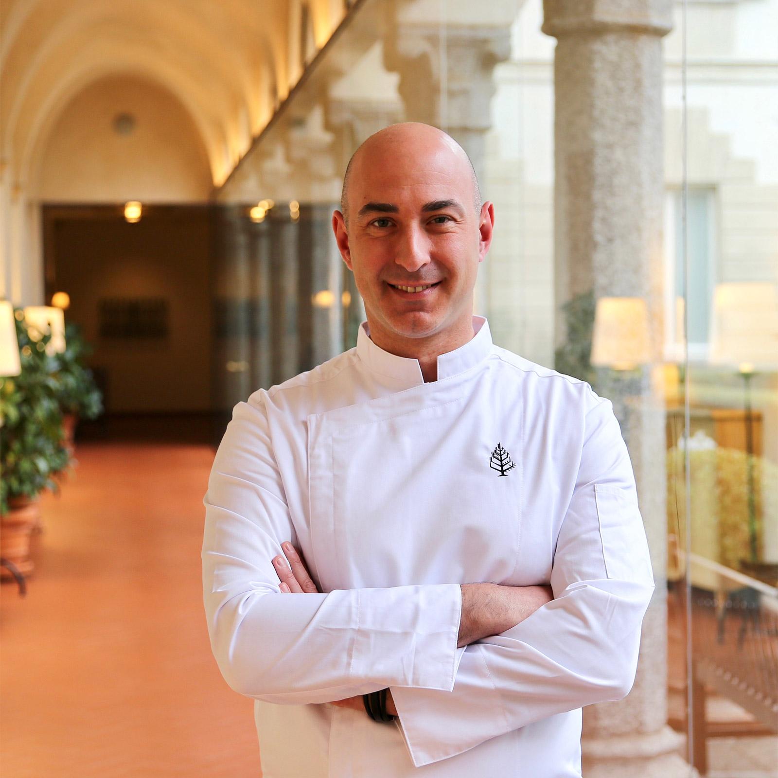 Chef Four Seasons Hotel Milano: Fabrizio Borraccino