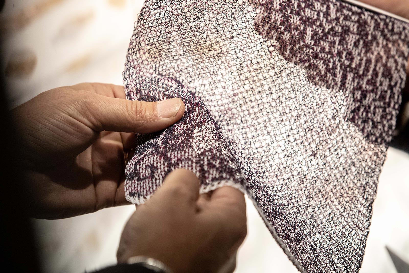 Filati da sogno - Intervista alla designer di Lineapiù: Pitti Filati 84 Lineapiu SS20 Collection