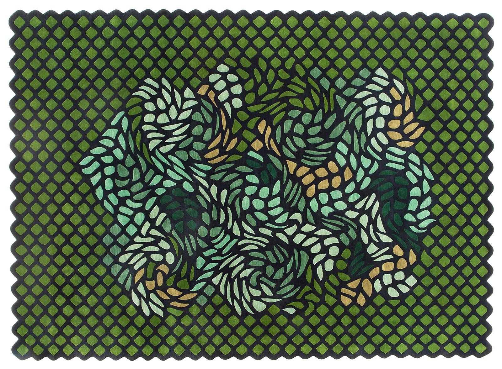 I tappeti persiani di Gorlan Maison Objet Paris: collezione Garden of Eden di India Mahdavi