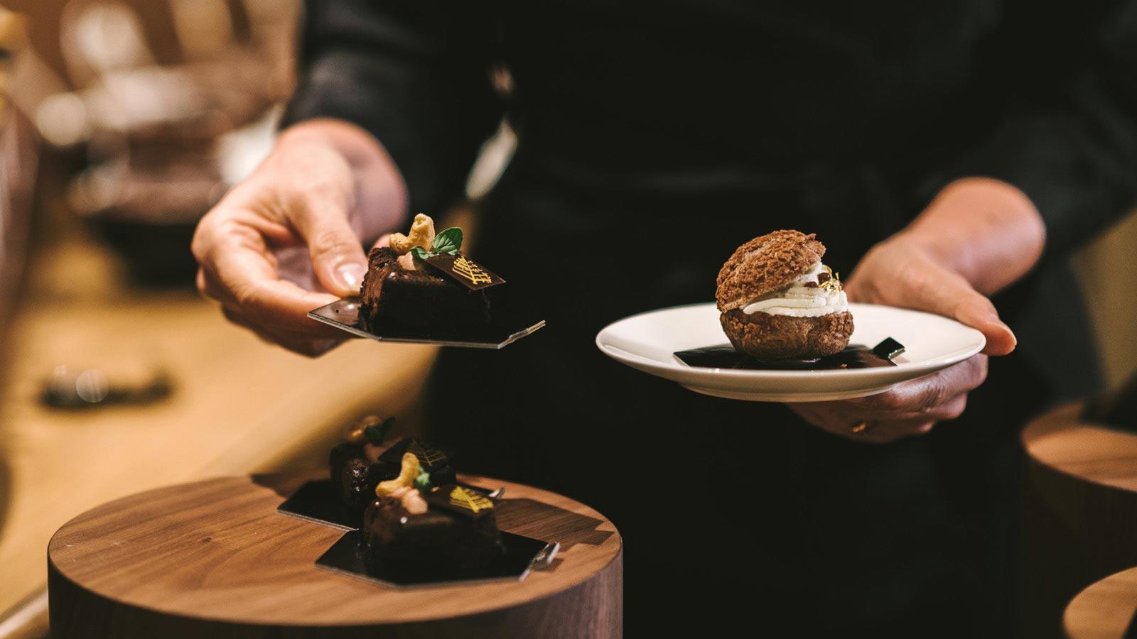 Chef Four Seasons Hotel Milano: Chocolate Room