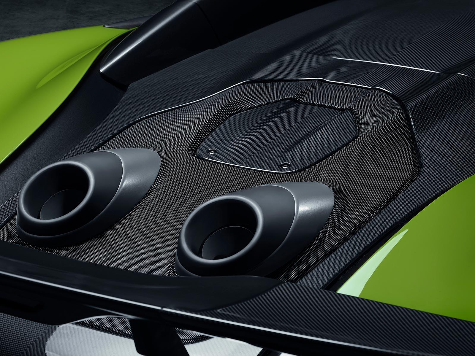 McLaren 600LT Spider Scarichi