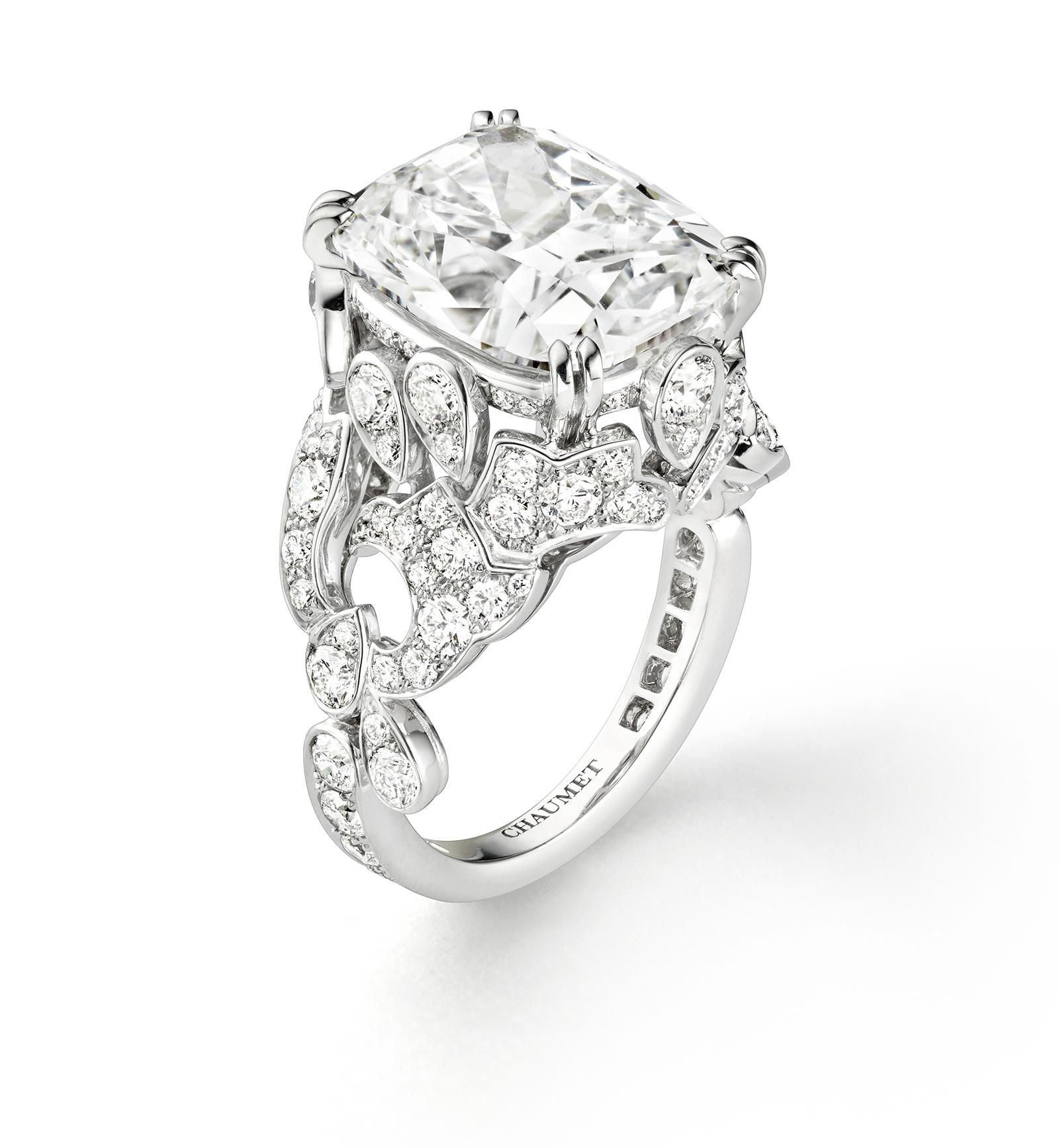 Chaumet Alta Gioielleria: Bague Diamant Soir de Fete