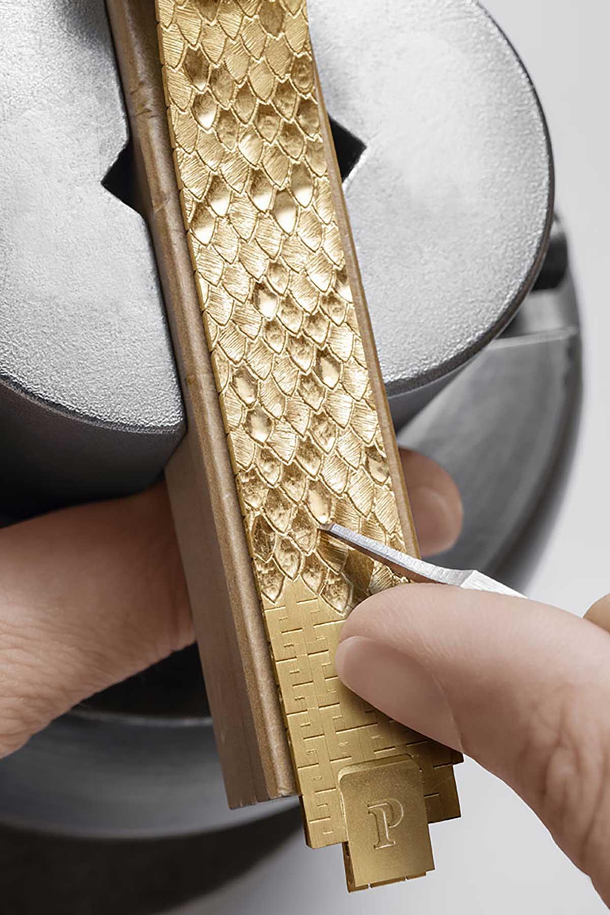 Orologio Oro Donna - Incisione a mano