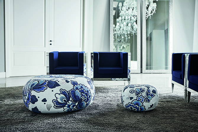 Bisazza Pebbles Collection design Marcel Wanders