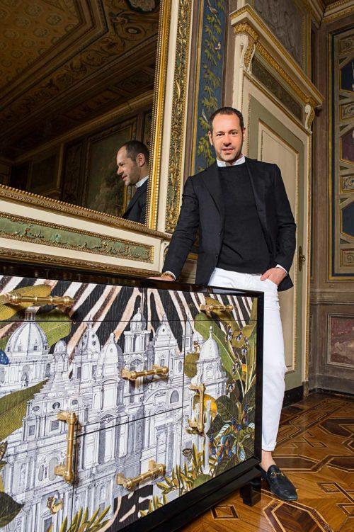 Massimiliano Giornetti è la sua Camera delle Meraviglie