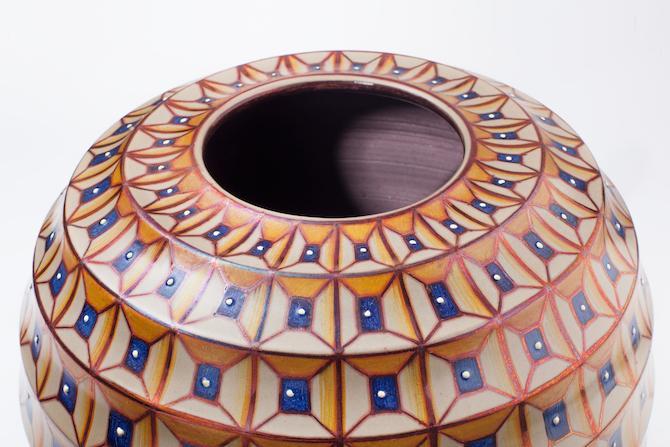 "Created by Saura Vignoli Title: Vaso modanato ""Giò"""