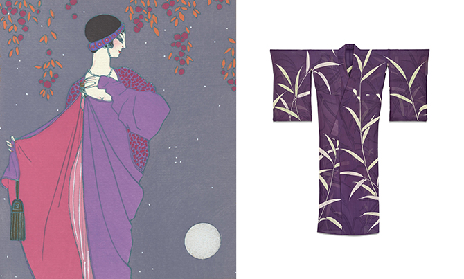 Asia Chic - An evening coat by Paul Poiret/ . Everyday kimono