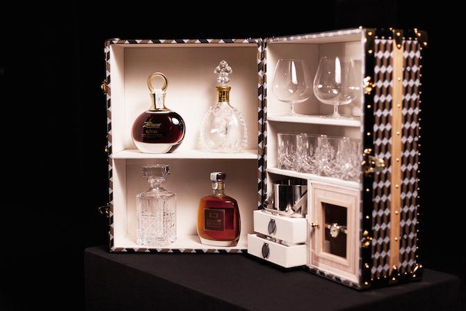 Au Départ_whisky trunk