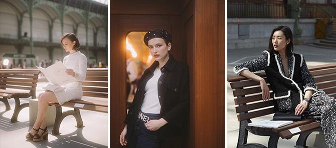 Diane Rouxel-Camille Razat-Liu Wen - Cruise 2020