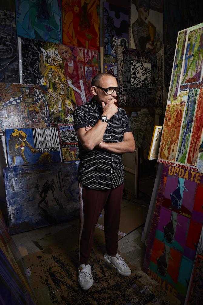 Marc Ferrero nel suo laboratorio