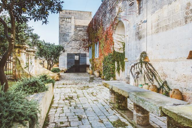 Giardino d'Arancio Palazzo Daniele