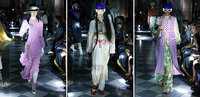 Gucci collezione Cruise 2020