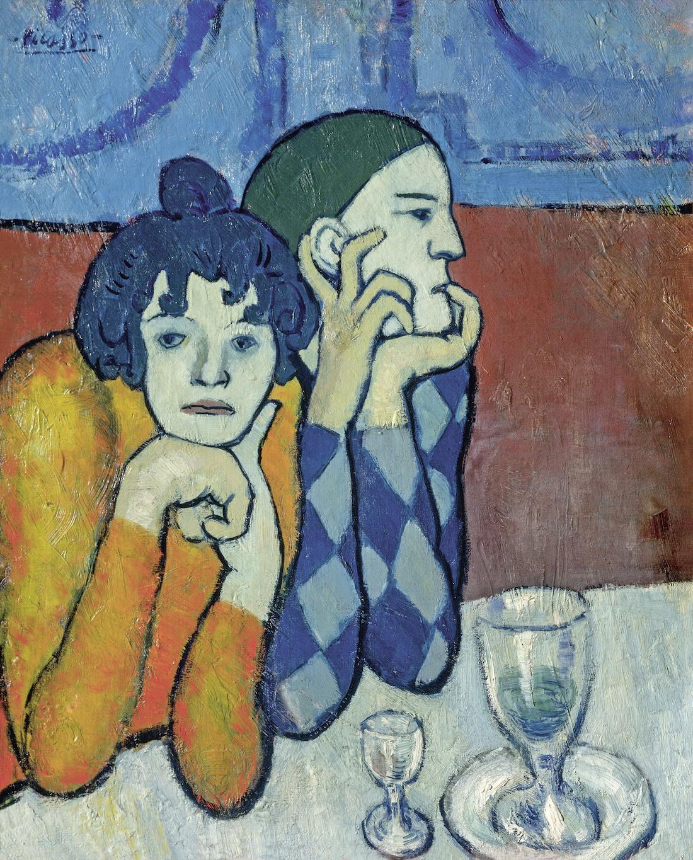 Il giovane Picasso - Periodo Blu e rosa
