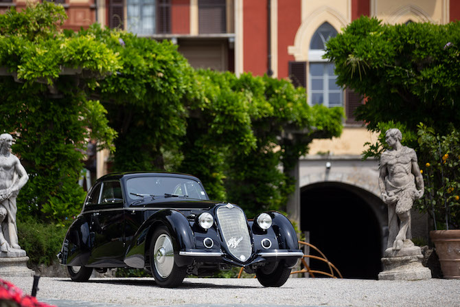 L'Alfa Romeo 8C 2900B
