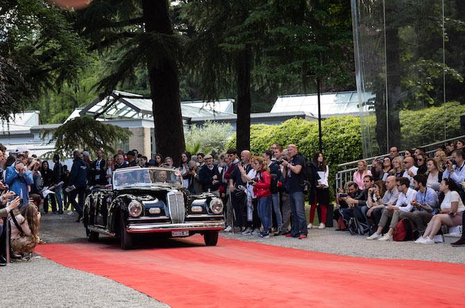 Lancia Astura Serie IV, vincitrice del Trofeo BMW Group Italia
