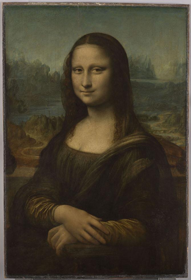 Leonardo da Vinci _La Gioconda
