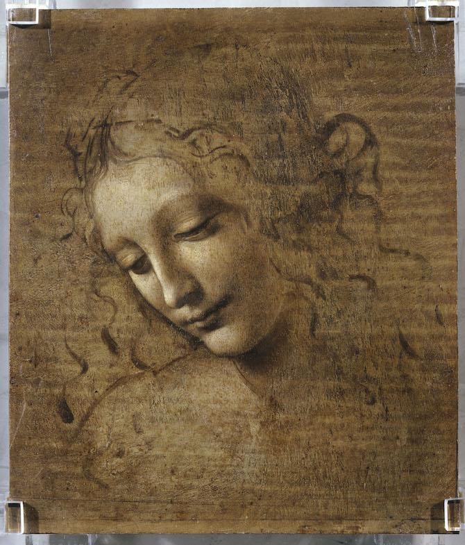 Leonardo da Vinci _Testa di fanciulla detta 'La scapigliata'
