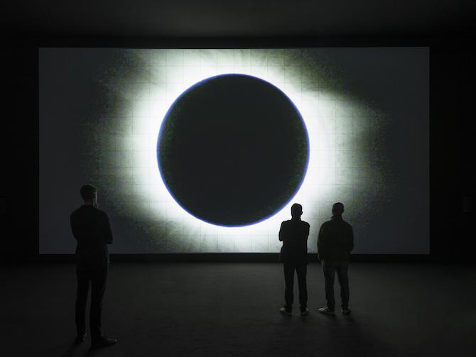 Ryoji Ikeda - data-verse 1, 2019 – Biennale d'arte di Venezia 2019.