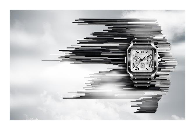 Santos de Cartier Cronografo XL